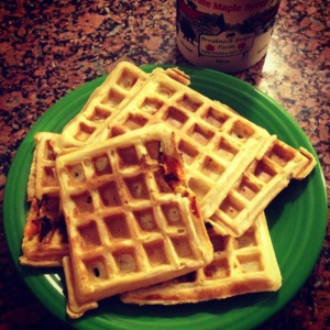 apricot waffles