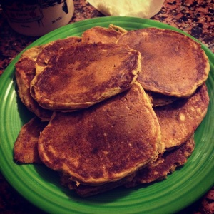 sourdough pumpkin pancakes