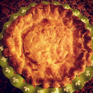 pineapple pie like Gram used to make... with some changes to make it mine.