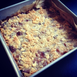 pie plum buckle