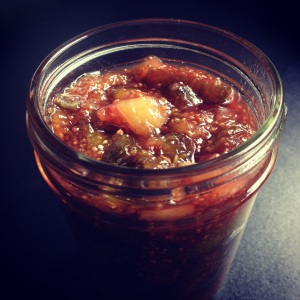 fig jam with rosemary & preserved lemon