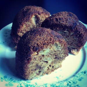 Gluten-free apple bundt cake
