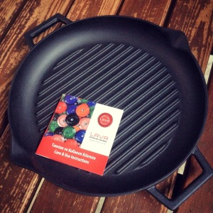 Lava ECO enameled cast iron grill pan