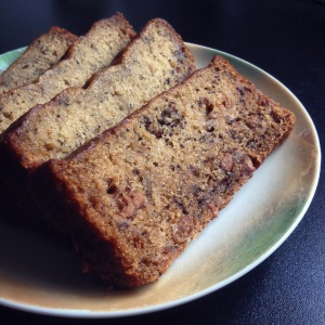 Banana Cake with Peanut Butter Chips