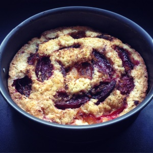 plum cake with Chinese five spice