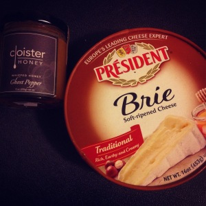 my favorite brie and honey for this recipe